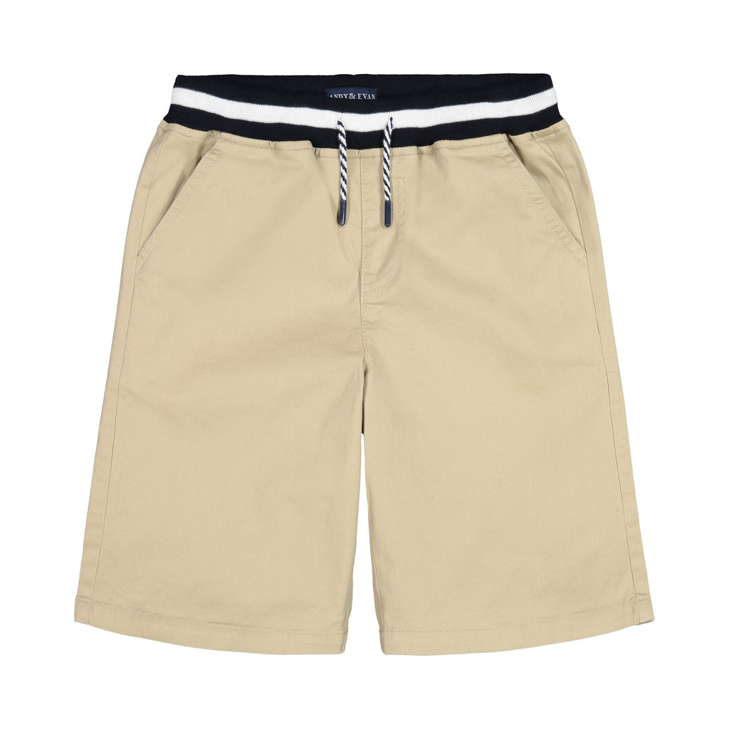 Khaki Jogger Short - Andy & Evan
