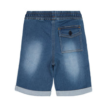 Load image into Gallery viewer, Knit Denim Jogger Shorts - Andy & Evan