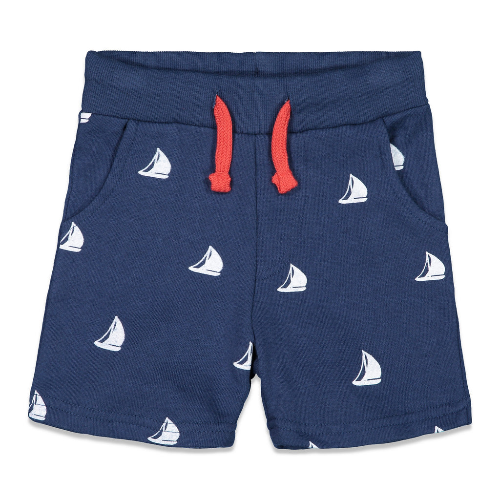 Sailboat Print Short - Andy & Evan