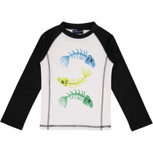 Load image into Gallery viewer, Fish Bones Rashguard (Recommended by the Skin Cancer Foundation) - Andy & Evan