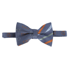 Glasses and Stripes Bowtie