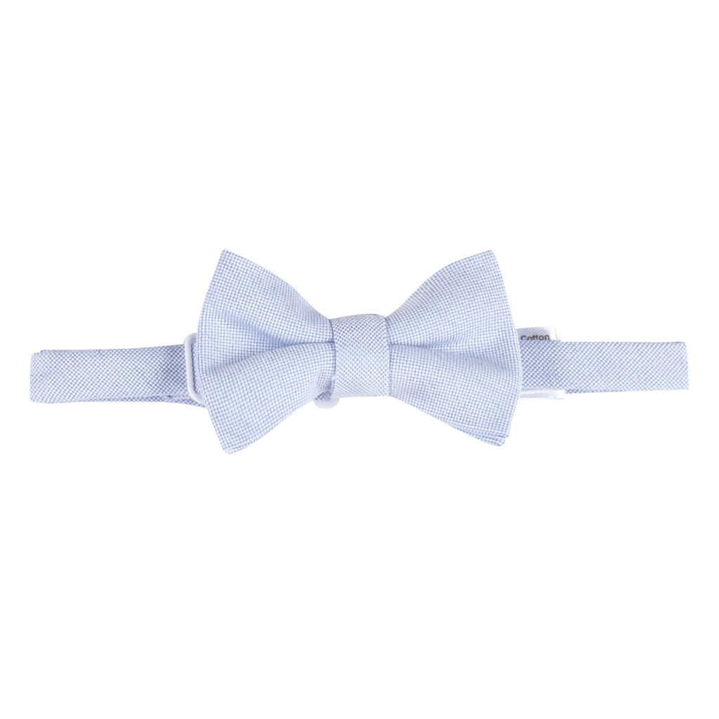 Blue Oxford Bowtie - Andy & Evan