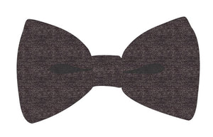 Grey Suiting Bowtie - Andy & Evan