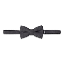 Load image into Gallery viewer, Grey Suiting Bowtie - Andy & Evan