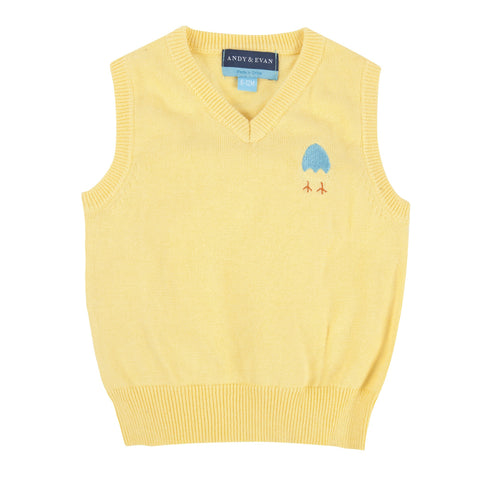 East'er Eyes on This!: Yellow Sweater Vest