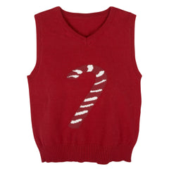 Red Christmas Sweater Vest