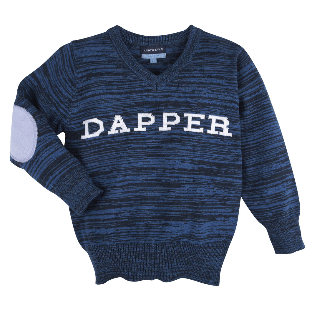 Blue Dapper Sweater - Andy & Evan