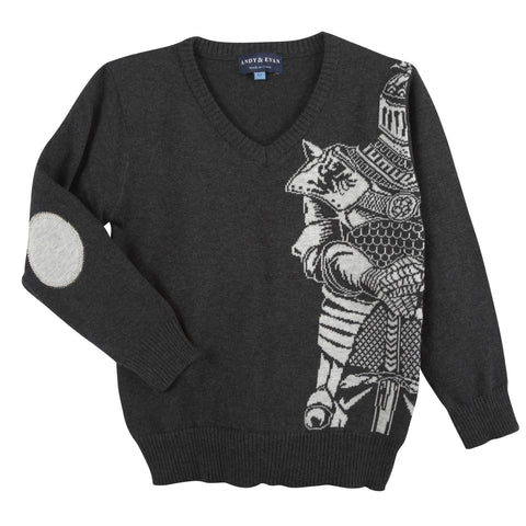Charcoal Knight Sweater