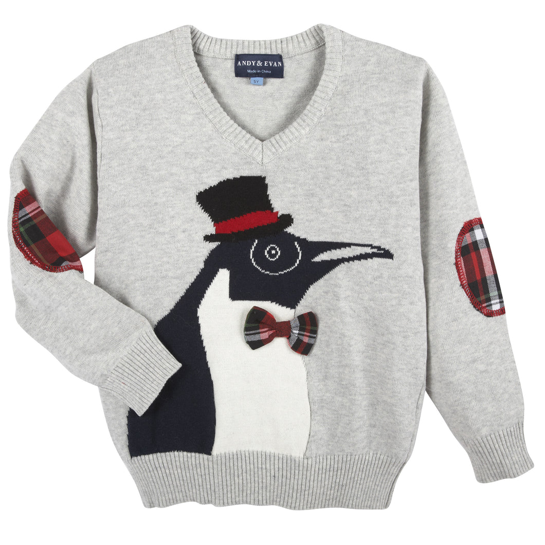 Christmas Penguin Sweater - Andy & Evan