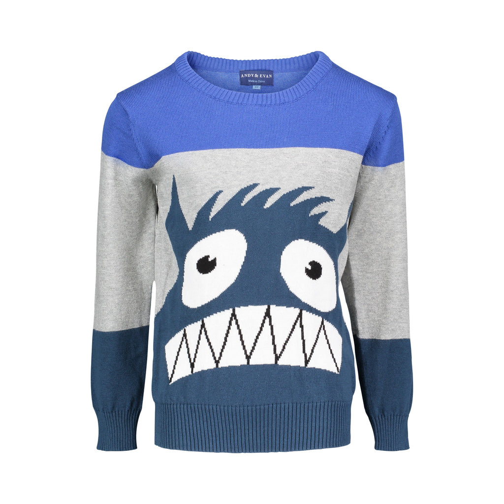 Monster Graphic Sweater - Andy & Evan
