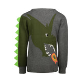 Dragon Graphic Sweater