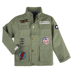 Military Patchwork Jacket