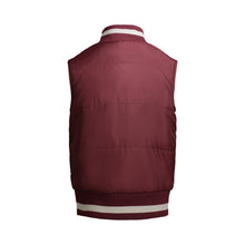 Load image into Gallery viewer, Maroon Reversible Puffer Vest - Andy & Evan
