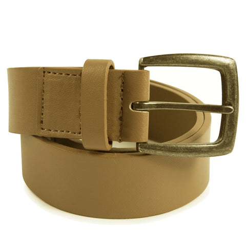 Downtown Brown: Cognac Belt