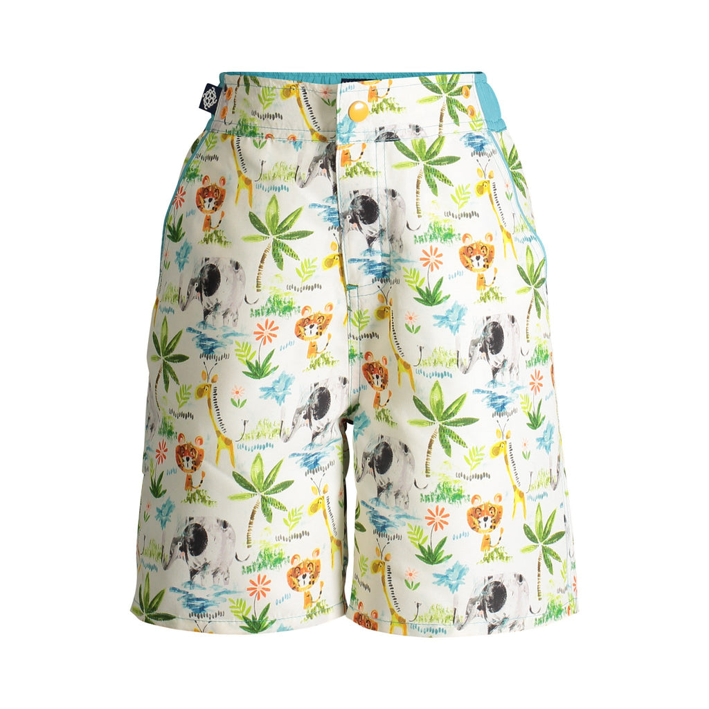 UPF 50 Safari Swim Trunks (Fabric recommended by The Skin Cancer Foundation) - Andy & Evan