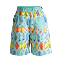 Load image into Gallery viewer, UPF 50 Surfboards Swim Trunks (Recommended by the Skin Cancer Foundation) - Andy & Evan