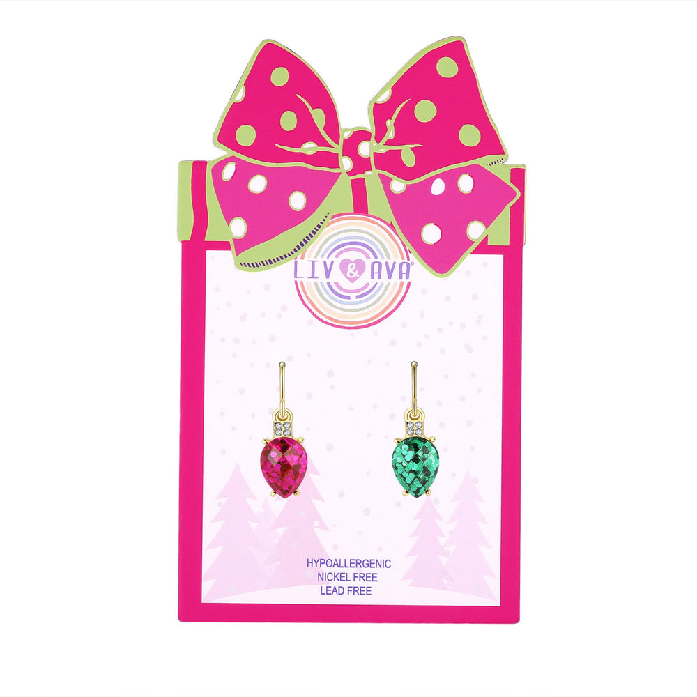 Holiday Lights Earrings - Andy & Evan