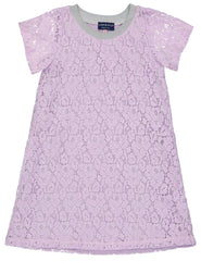 Lavendar Sporty Lace Dress