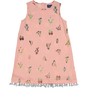 Cactus Print Dress - Andy & Evan