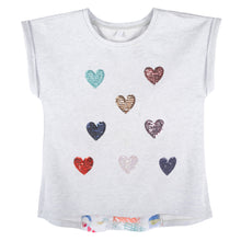 Load image into Gallery viewer, Sequins Heart T-shirt - Andy & Evan