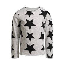 Load image into Gallery viewer, Grey Star Knit Tee - Andy & Evan
