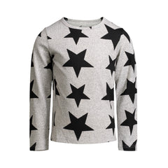 Grey Star Knit Tee