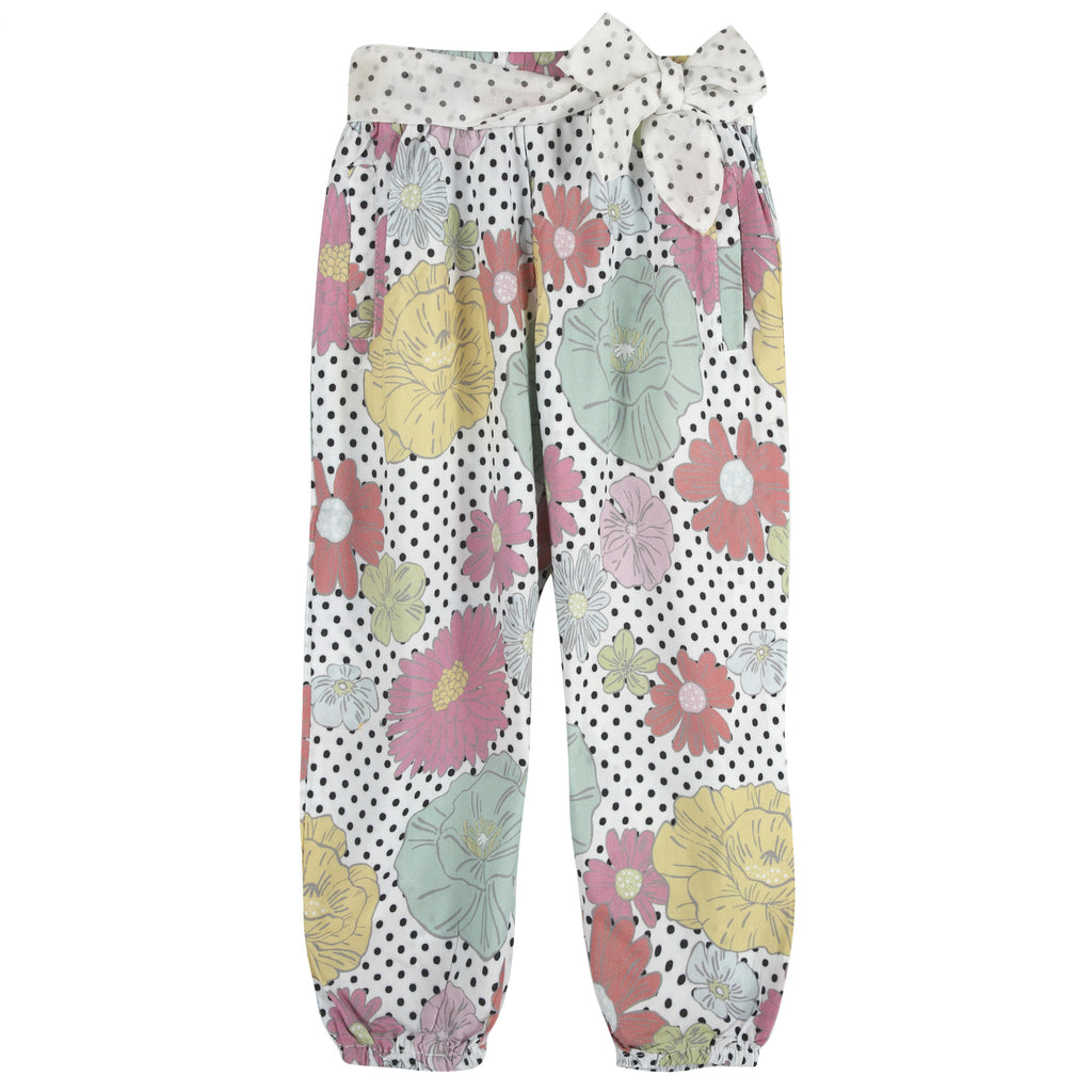 Floral Printed Pants - Andy & Evan