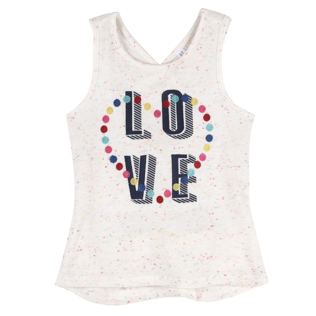 """Love"" Tank with CrissCross Back - Andy & Evan"
