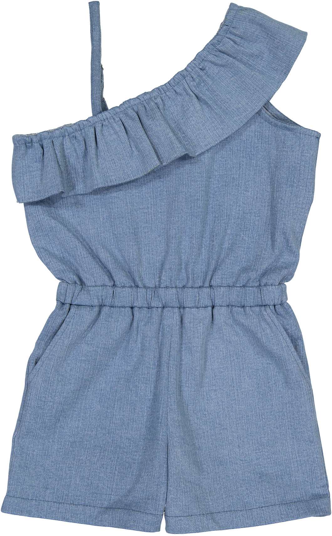 Denim Romper - Andy & Evan