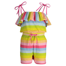 Load image into Gallery viewer, Rainbow Romper - Andy & Evan