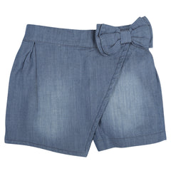Chambray CrossCross Shorts