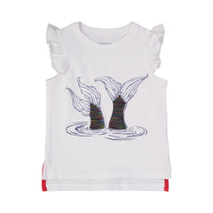 White Mermaid Tank