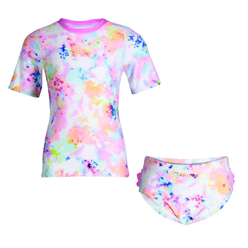 UPF 50 Tie-Dye Rashgaurd Set (Fabric recommended by The Skin Cancer Foundation) - Andy & Evan