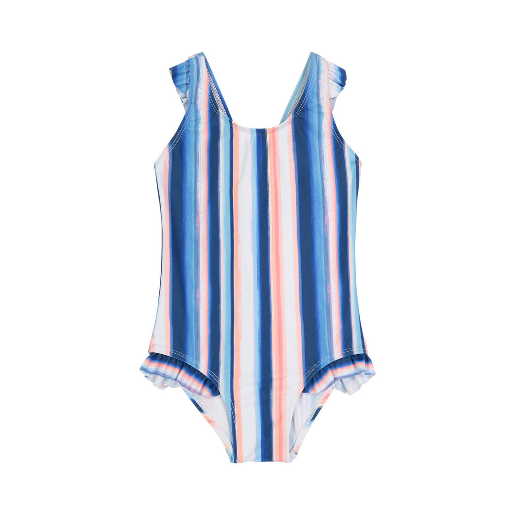 UPF 50 Ruffle Strap One Piece (Recommended by the Skin Cancer Foundation) - Andy & Evan