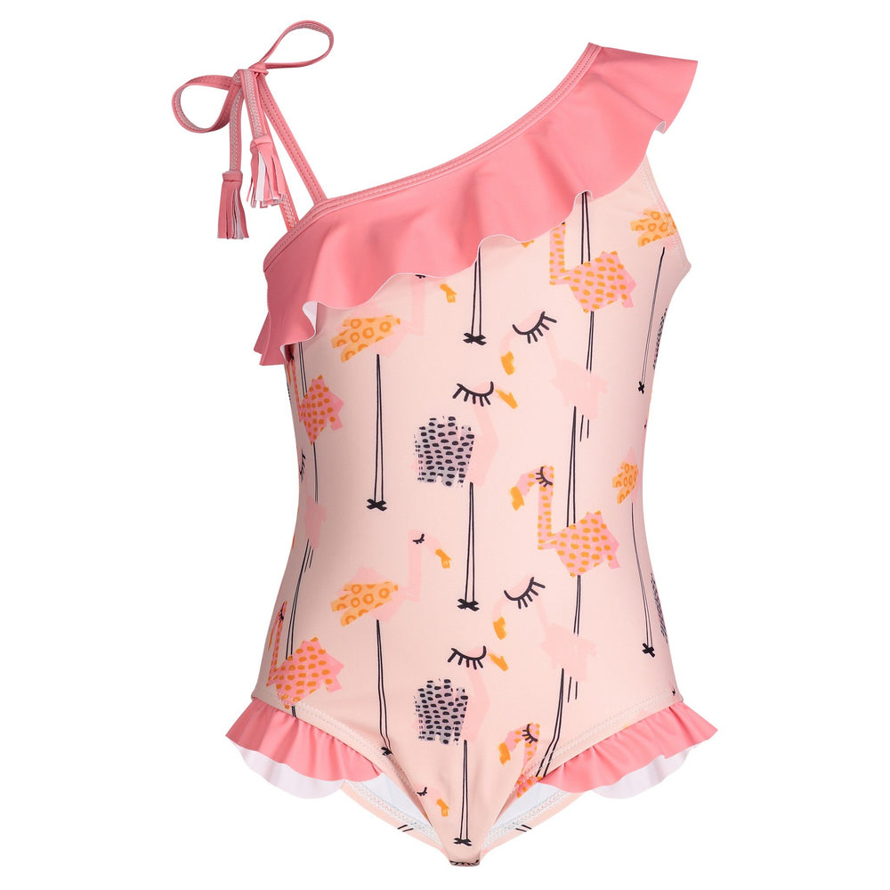 UPF 50 Flamingo One-Piece (Fabric recommended by The Skin Cancer Foundation) - Andy & Evan