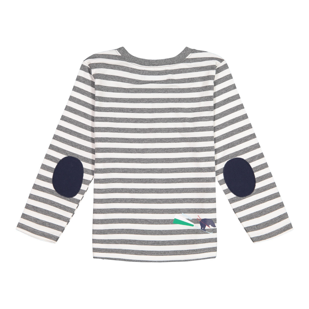 Striped LS Pocket T-Shirt - Andy & Evan