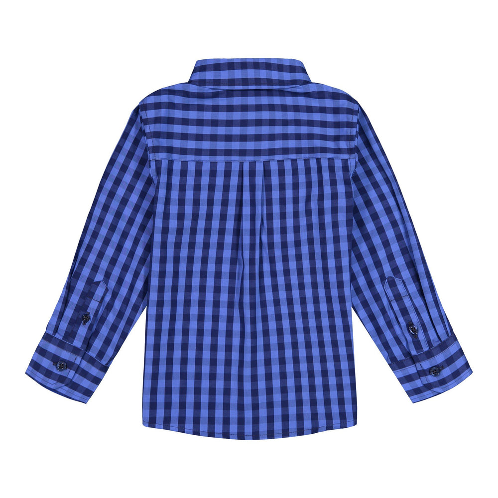 Blue Buffalo Check Button-down - Andy & Evan