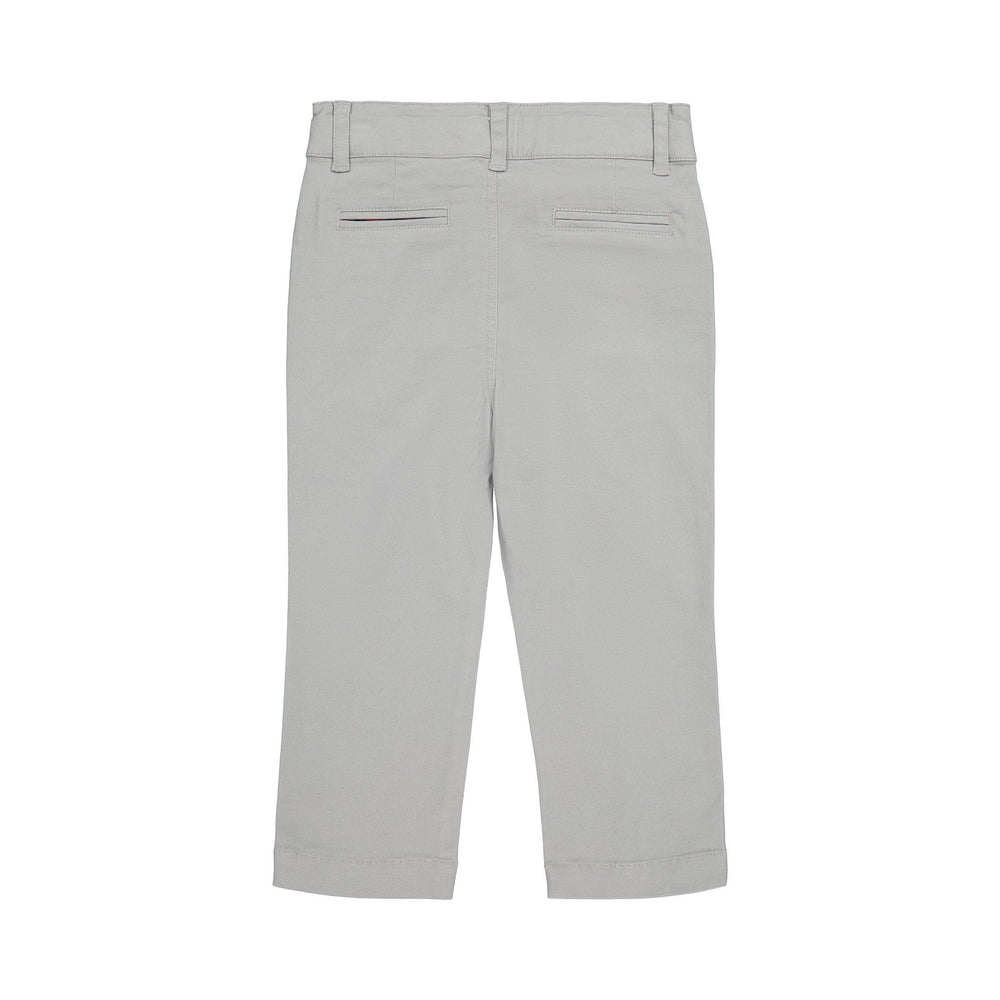 Grey Twill Pants - Andy & Evan