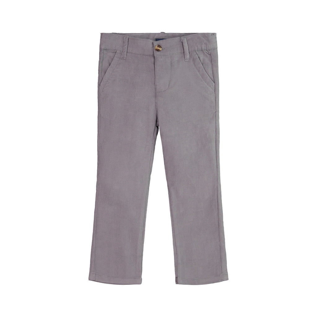 Grey Corduroy Pants - Andy & Evan