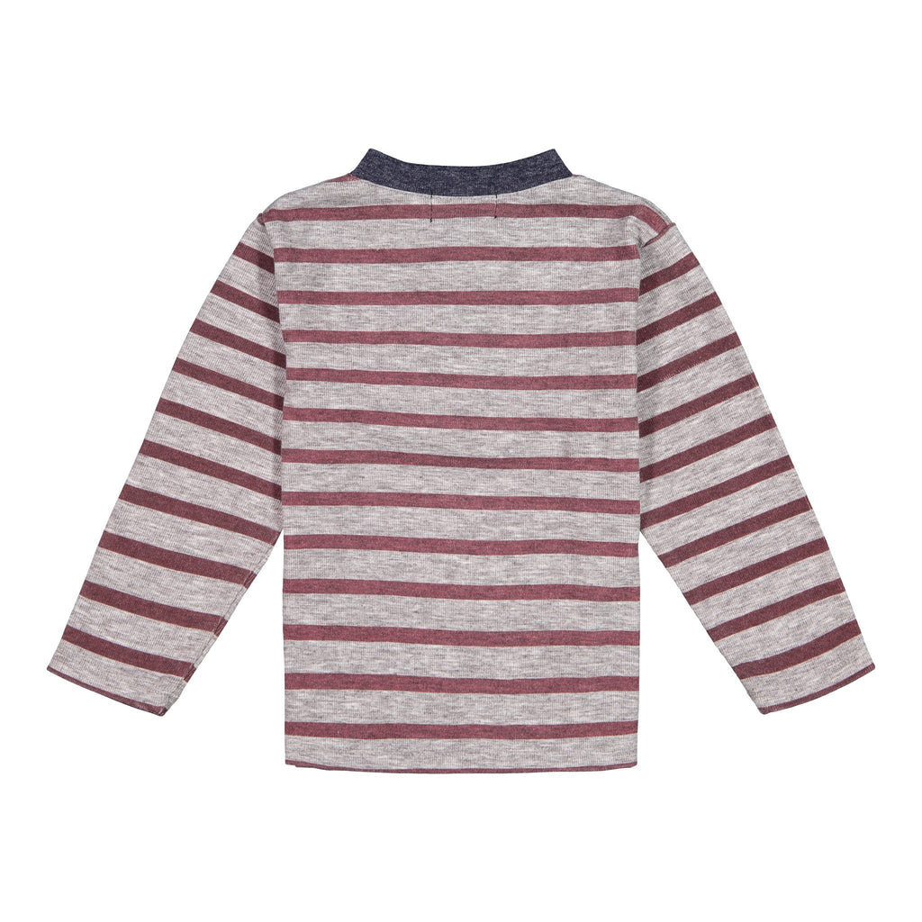 Striped Henley - Andy & Evan