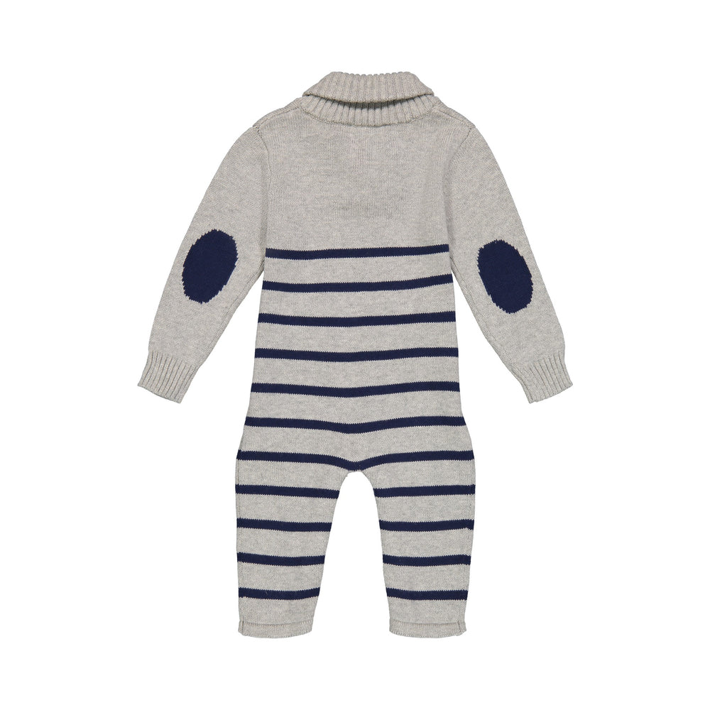 Patches Toggle Romper - Andy & Evan