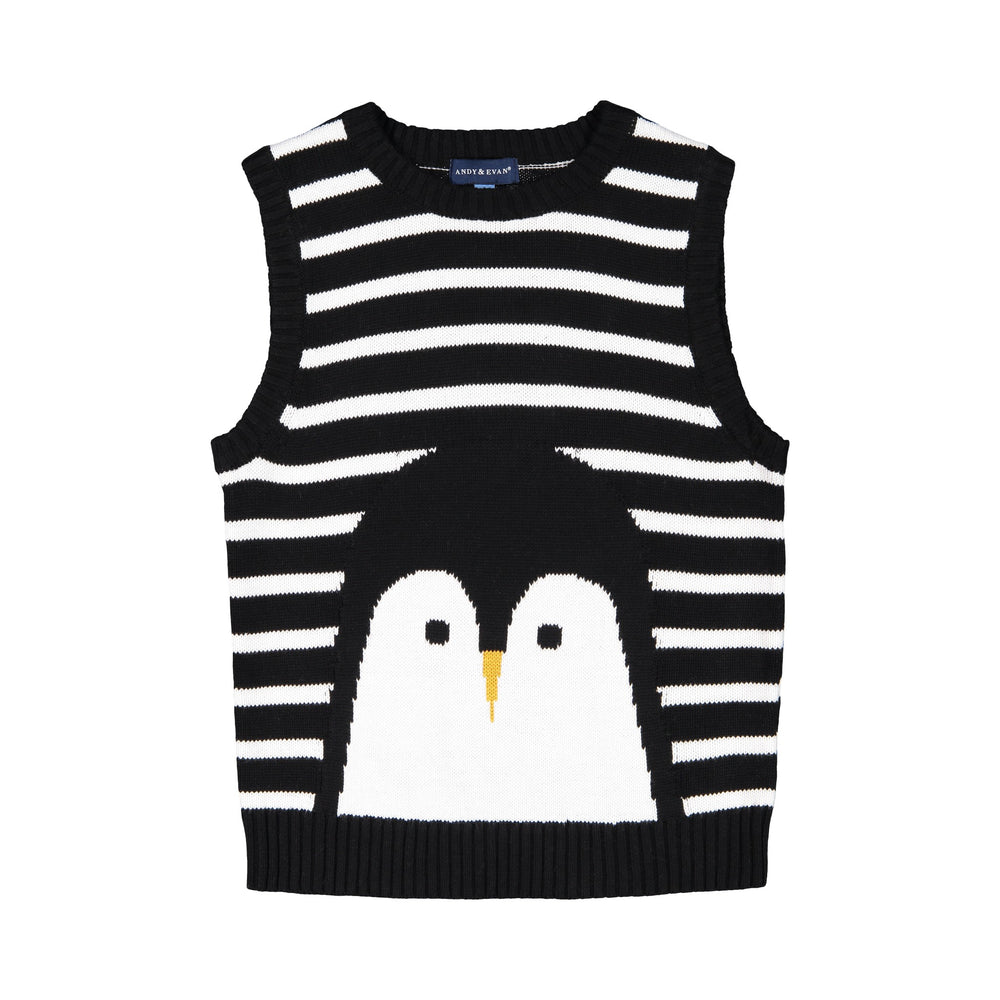 Penguin Sweater Vest - Andy & Evan
