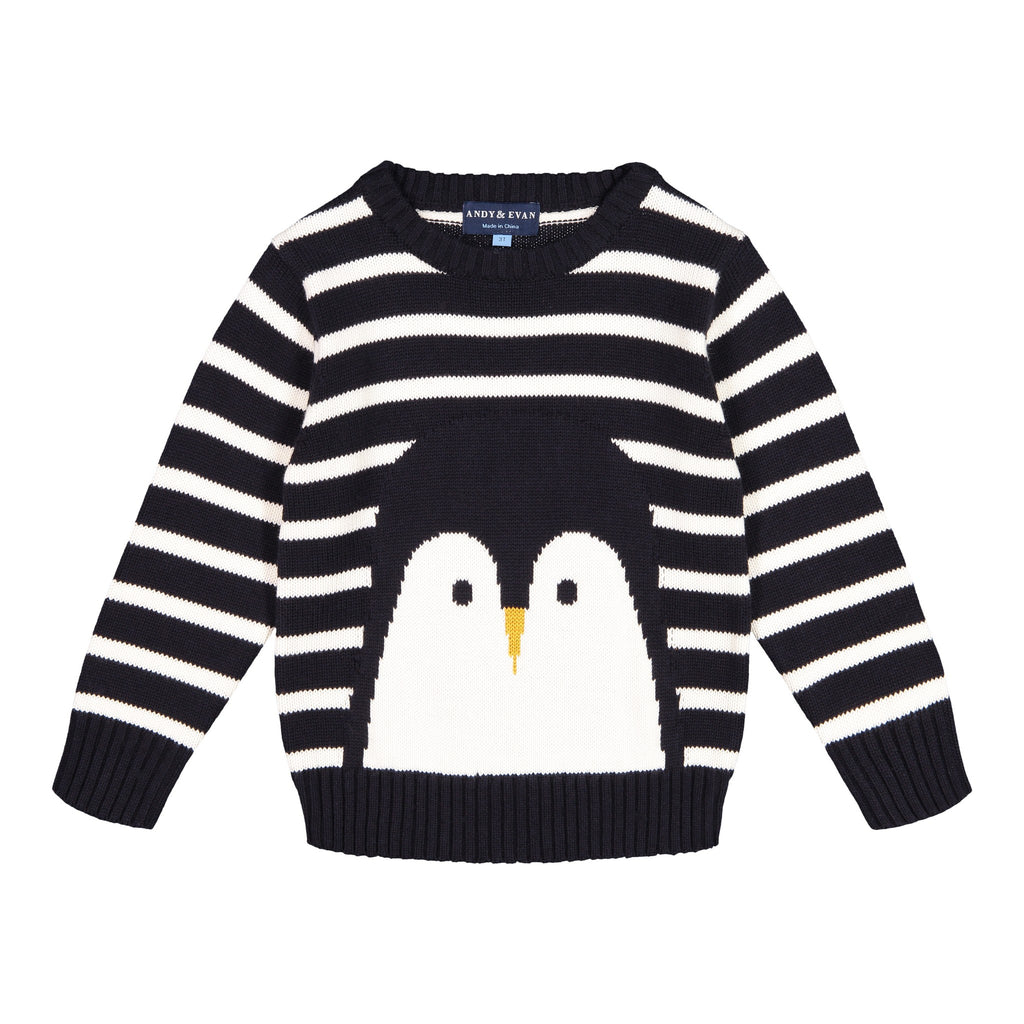 Penguin Sweater - Andy & Evan