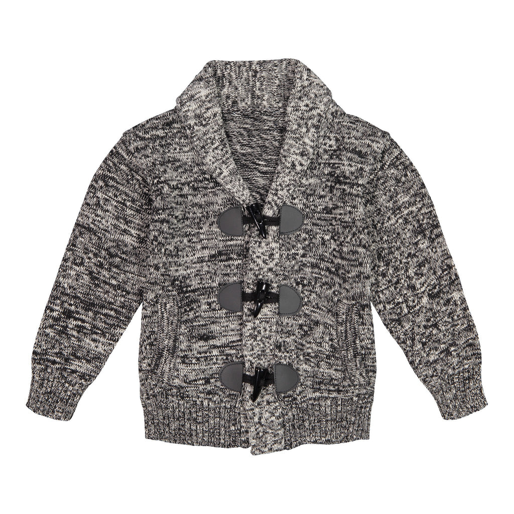 Marled Toggle Cardigan - Andy & Evan