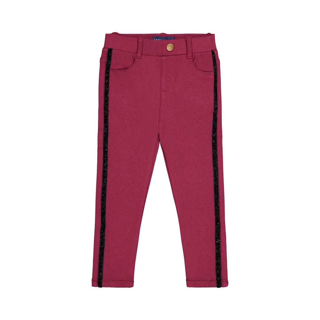 Magenta Knit Pant - Andy & Evan