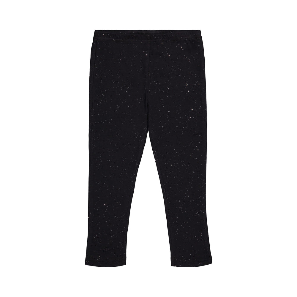 Black Sparkle Legging - Andy & Evan