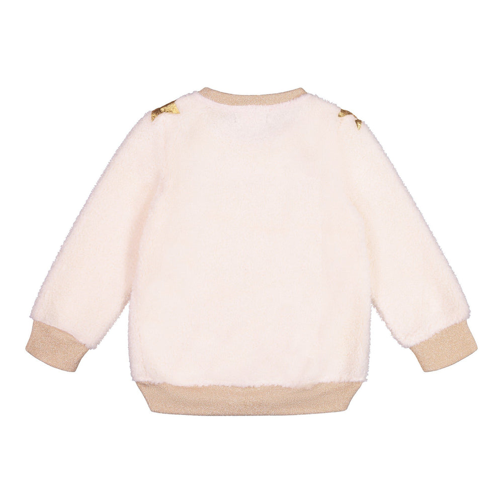 Cream Sherpa Sweatshirt - Andy & Evan