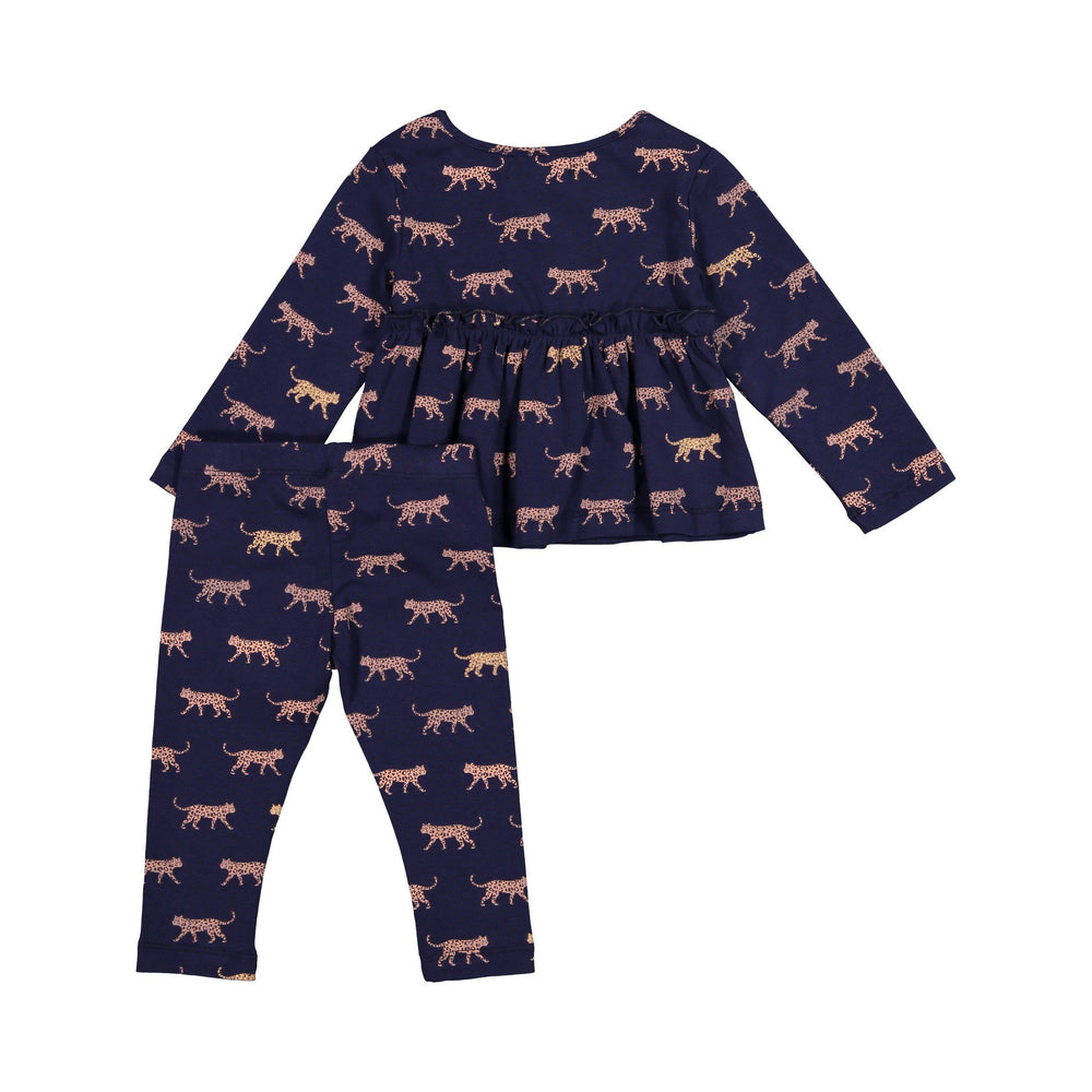 Cheetah Tee and Legging Set - Andy & Evan