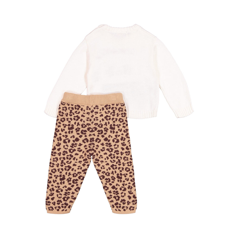 Cheetah Sweater and Legging Set - Andy & Evan