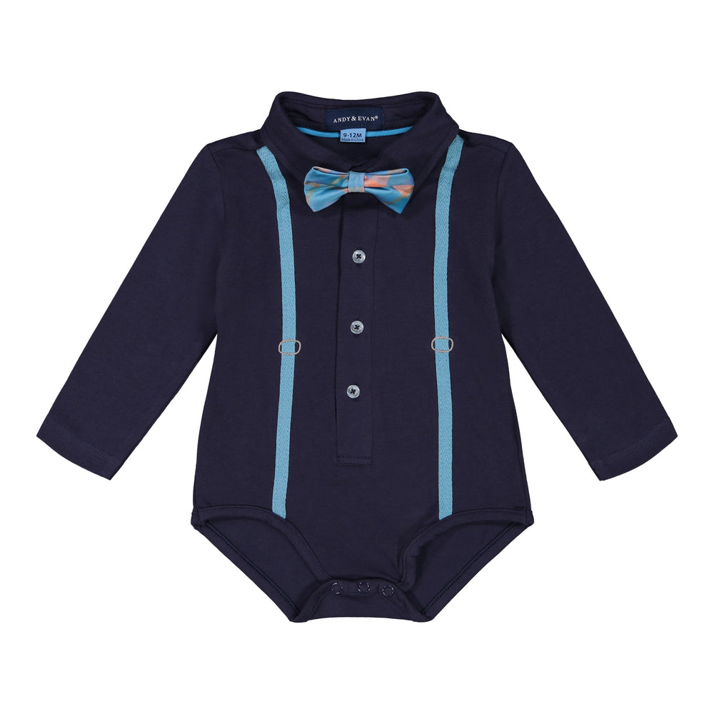 Navy Polo Shirtzie Set - Andy & Evan